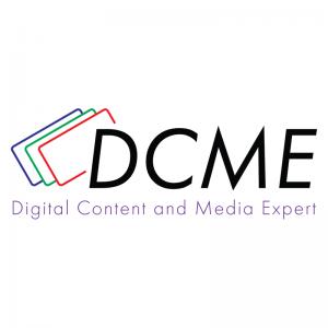 Digital Content and Media Expert Logo