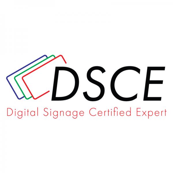 Digital Signage Certified Expert Logo