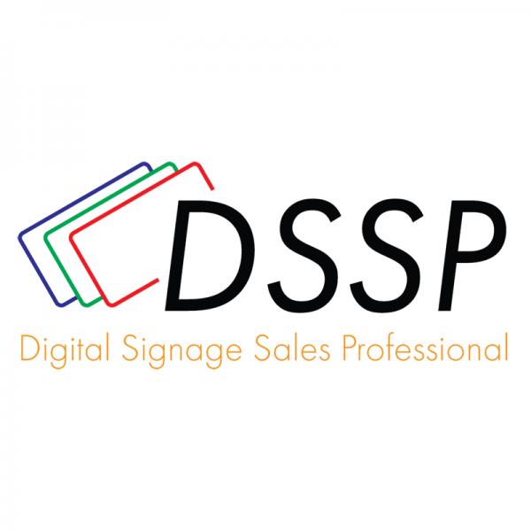 Digital Signage Sales Professional Logo